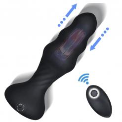 thrusting anal vibrator